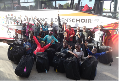 African Children's Choir 2015 Australia tour