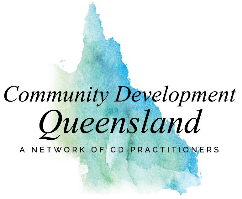 Community Development Queensland logo